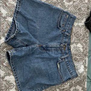 Polo Ralph Lauren vintage jean shorts